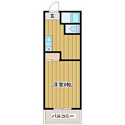 プリメール桂[2階]の間取り