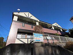 千葉県柏市松ヶ崎の賃貸アパートの外観