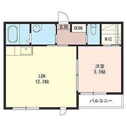 プリマベーラB[2階]の間取り