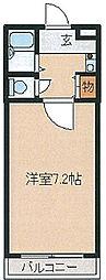 アドバンス坂田[106号室]の間取り