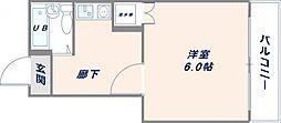 オーナーズマンション友井[4H号室]の間取り