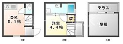 [テラスハウス] 兵庫県神戸市垂水区平磯4丁目 の賃貸【/】の間取り