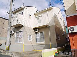 福岡県福岡市東区舞松原1丁目の賃貸アパートの外観