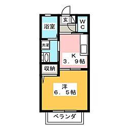 ボニートM[2階]の間取り