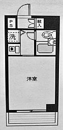 ヒルトップ横浜[303号室]の間取り