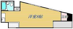 日本橋ダイヤモンドマンション[11階]の間取り