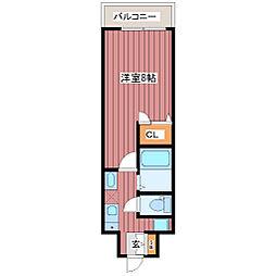 DolceVita北梅田[7階]の間取り
