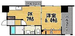 福岡県北九州市小倉北区昭和町の賃貸マンションの間取り