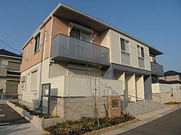 福岡県福岡市西区富士見3丁目の賃貸アパートの外観