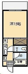 第2尚陽ビル[406号室]の間取り