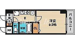 ホープシティ天神橋[12階]の間取り