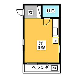 メゾンカワムラヤ[1階]の間取り