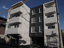 北海道札幌市北区新琴似8条4丁目の賃貸マンションの外観