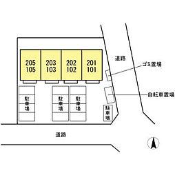 仮)D-room文教台[101号室]の外観