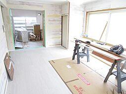 小樽市新光3丁目 戸建て 4LDKの居間