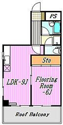 サンライズマンション西葛西[2階]の間取り