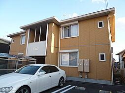 岡山県倉敷市児島上の町1丁目の賃貸アパートの外観