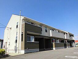徳島県板野郡藍住町富吉字穂実の賃貸アパートの外観