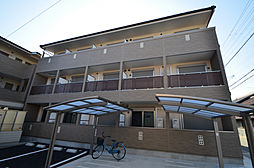 兵庫県姫路市飾磨区天神字天神町の賃貸アパートの外観