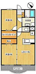 マーベラスガーデン[2階]の間取り