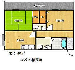 兵庫県神戸市兵庫区下沢通5丁目の賃貸マンションの間取り