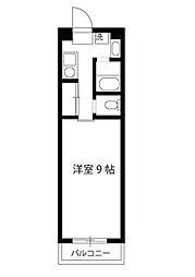 エーデルハイムサカイ[2階]の間取り