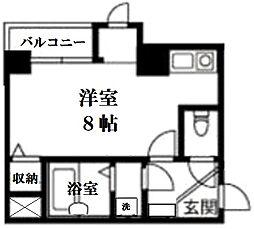 エストセントレ[6階]の間取り