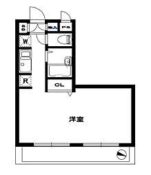 アーバンパレス横須賀[211号室]の間取り