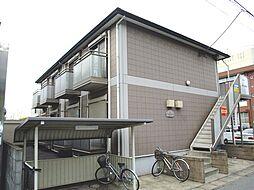 千葉県千葉市中央区末広3丁目の賃貸アパートの外観
