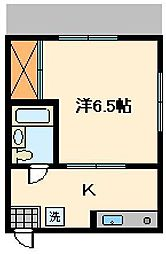 NOTS西綾瀬[1階]の間取り