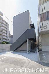 大阪府堺市堺区神明町西3丁の賃貸アパートの外観