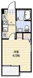 埼玉県さいたま市大宮区宮町4丁目の賃貸アパートの間取り