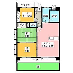 メゾン・ド・アムール[3階]の間取り
