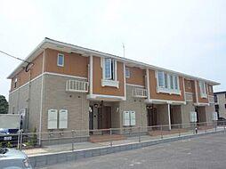 福岡県遠賀郡芦屋町白浜町の賃貸アパートの外観