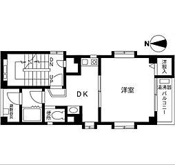 神奈川県横浜市中区石川町2丁目の賃貸マンションの間取り