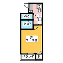 アイギハイツII[2階]の間取り