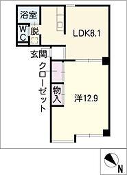 エイトビル[2階]の間取り