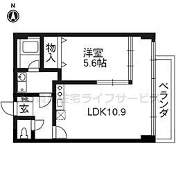 KEN&LALA[302号室]の間取り