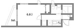 グランビル板橋[1階]の間取り