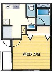 湘南ビル[2階]の間取り