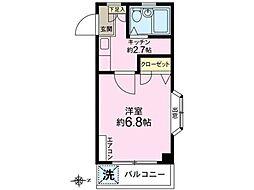アルベールハイム[2階]の間取り