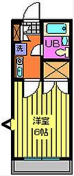 プログレス藤ノ台[101号室]の間取り