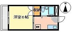 香川県高松市宮脇町1丁目の賃貸マンションの間取り