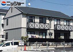 愛知県長久手市宮脇の賃貸アパートの外観