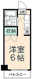 Uトピア高幡不動[403号室]の間取り