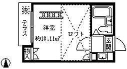 ライフピアエクセル[203号室]の間取り