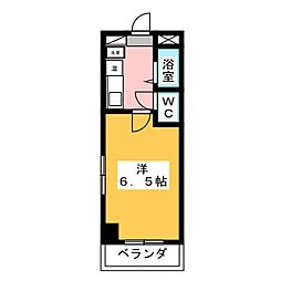 メゾンナガオ[2階]の間取り