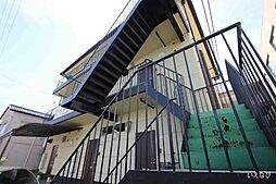 広島県福山市港町1丁目の賃貸アパートの外観