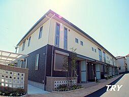奈良県葛城市長尾の賃貸アパートの外観