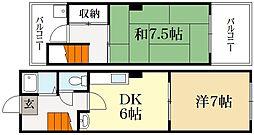 メゾン・ド・サカミ[3階]の間取り